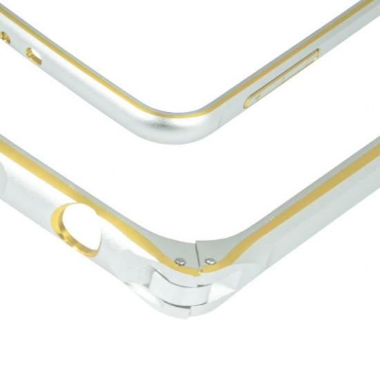Case aluminum Samsung S6 silver