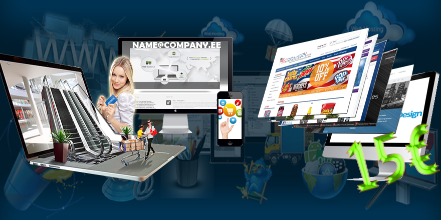 Website|Store|Business Mail creation  from 15€